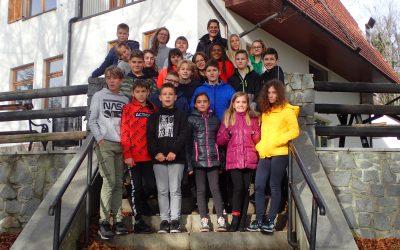 Sedmošolci – CŠOD – Planinka