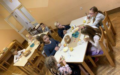 Dan slovenske hrane obeležili tudi na PŠ Dobovec